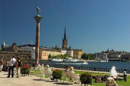 Ostern in Stockholm